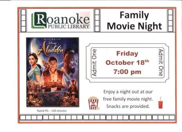 Family Movie Night Oct18
