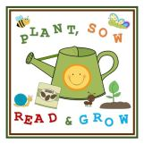 Plant, Sow, Read & Grow logo