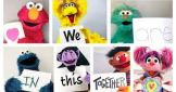 Sesame street stand up to racism: We are in this together!