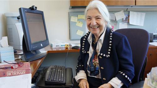 Ruzena Bajcsy, EECS professor