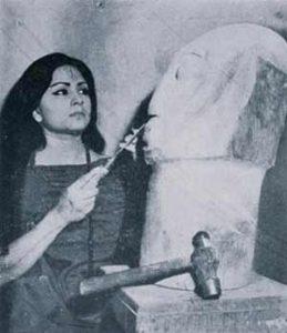 ১৯৬০ সালে, ঢাকার স্টুডিওতে... , উৎসঃ inner gaze ক্যাটালগ