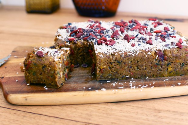 Recipe vegan raw christmas cake or maybe you just want a healthier easier option for your special day celebrations well go no further than a vegan raw forumfinder Gallery