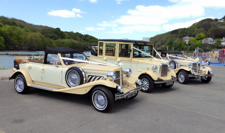 30s vintage style car hire for weddings and special occasions