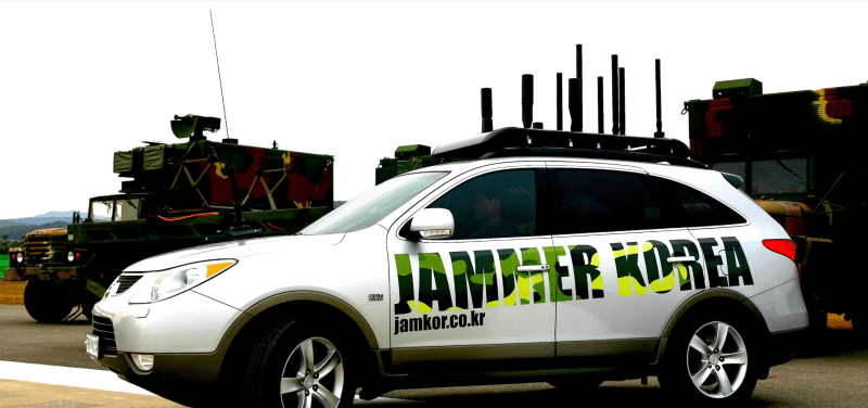 Vehicle type Drone Jammer system