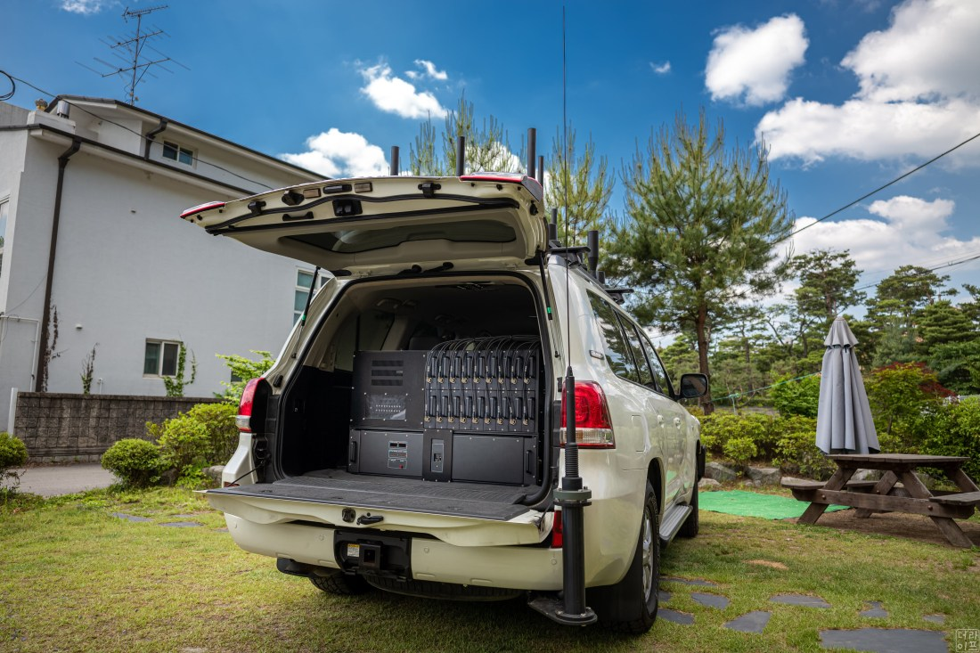 Vehicle type radio jammer system