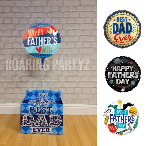 Father's Day Balloon in a Box