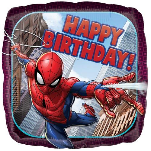 "18"" Spiderman Happy Birthday Balloon"