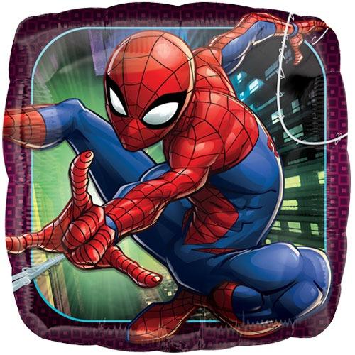 "18"" Spiderman square balloon"