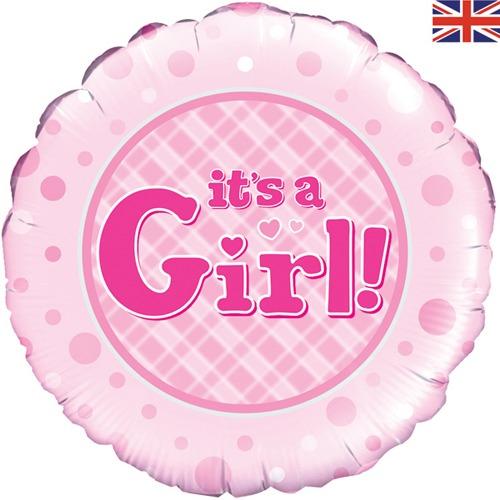 18 Inch It's a Girl! Balloon