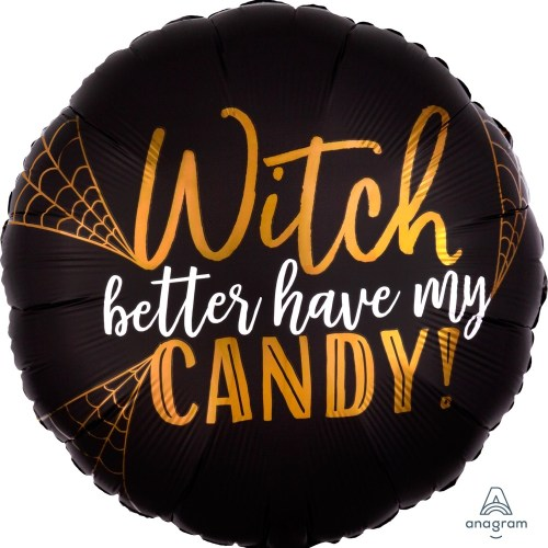 18 Inch Wicked Satin Balloon