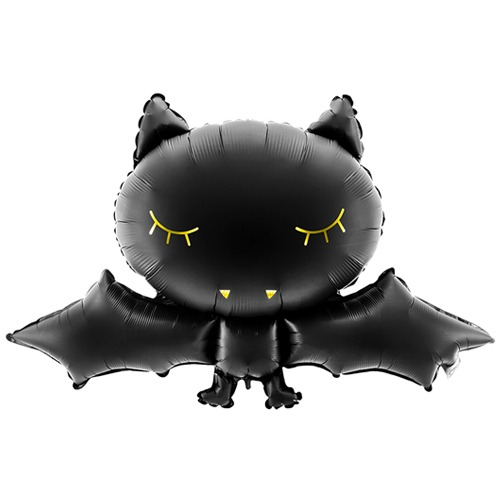 32 Inch Black Bat Foil Balloon