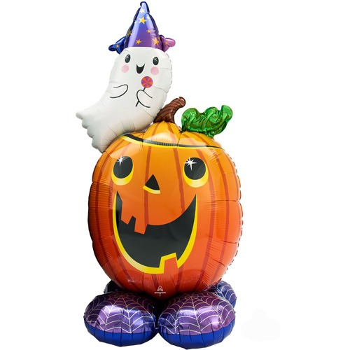 "56"" Pumpkin & Ghost Airloonz"