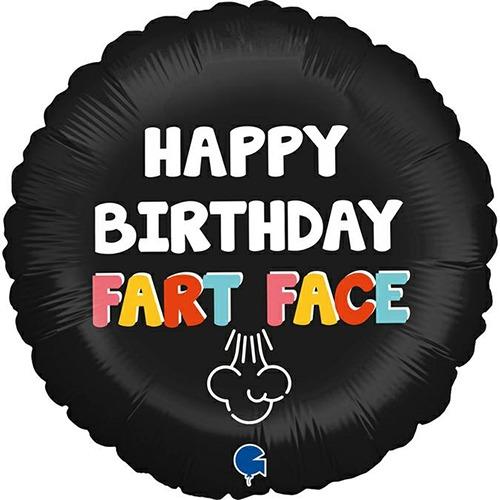 18 Inch Birthday Fart Face Balloon