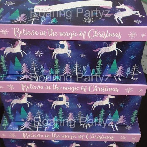 Unicorn Christmas Eve Box