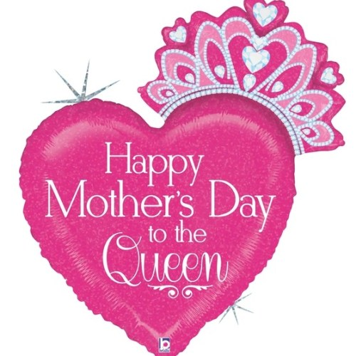 33 Inch Queen Mother's Day Balloon
