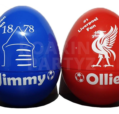 Filled Personalised Easter Egg
