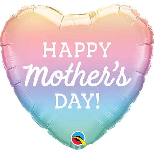 18 Inch Rainbow Mother's Day Balloon