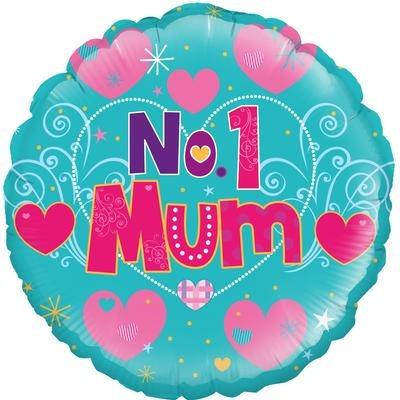Number 1 Mum Balloon