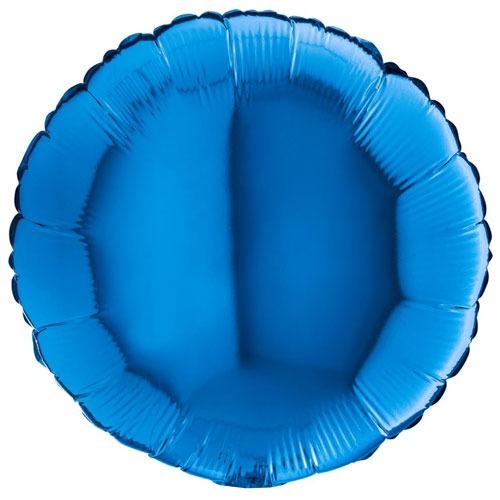 18 Inch Blue Round Balloon