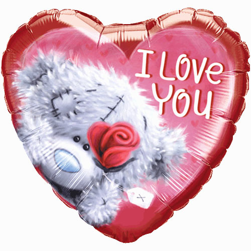 18 Inch Me To You Valentines Heart Balloon