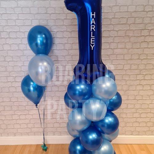 3 Latex Balloon Cluster