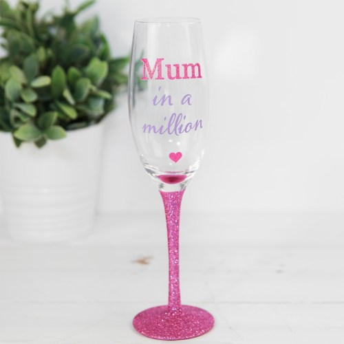 True Mothers Day Prosecco Glass - Mum In A Million