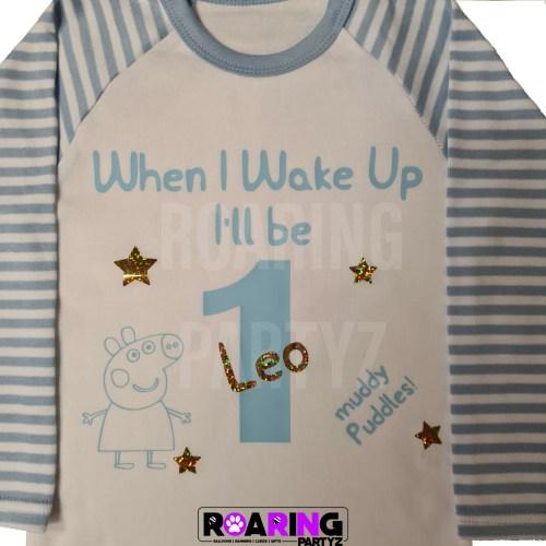 Personalised Pyjamas – Blue
