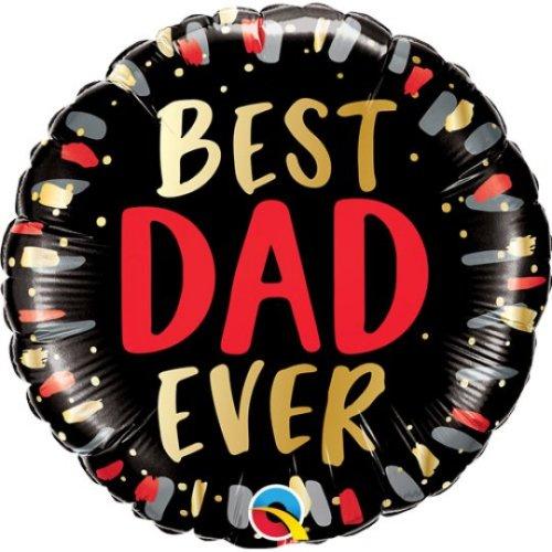 18 Inch Best Dad Ever Balloon