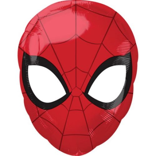 """17"""" Spiderman Head Balloon"""