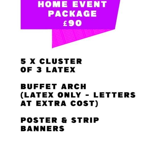 Home Event Package