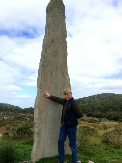 Ballycrovane Ogham Stone