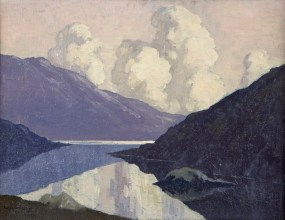 Paul Henry's Clouds at Sunset