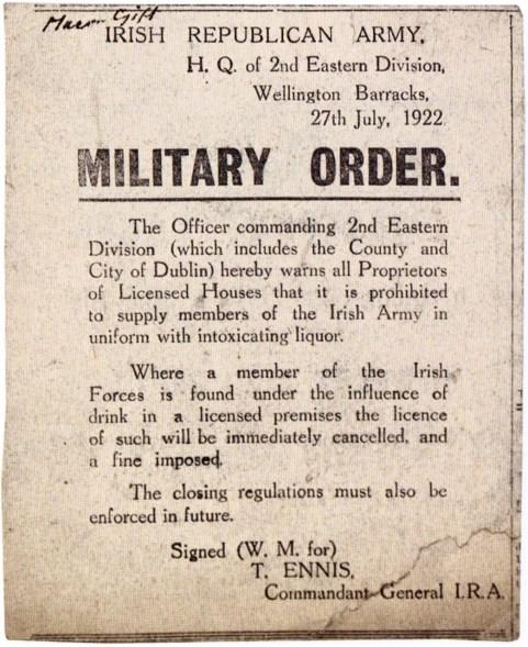 military order