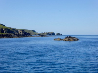 Approaching Cape Clear