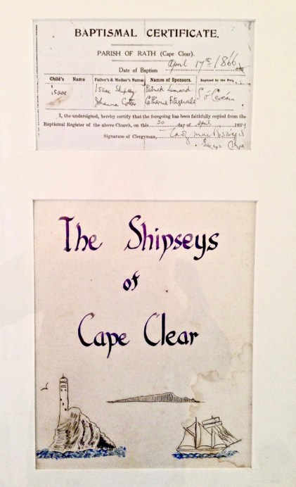 shipsey certificate