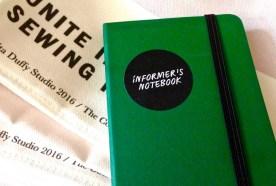 Informers notebook
