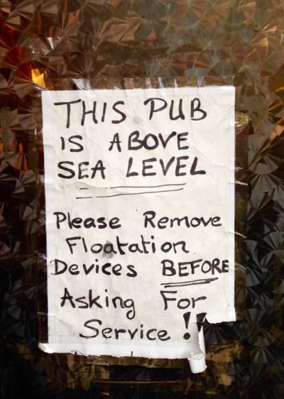 seal level pub