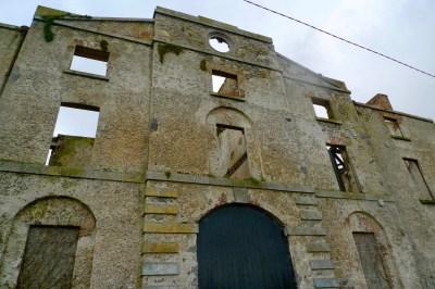 hotel ruin Shannon Harbour