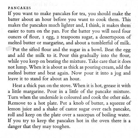 monica's pancakes