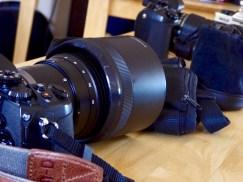 Cameras close up