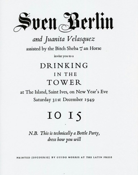Sven + Juanita poster 1949