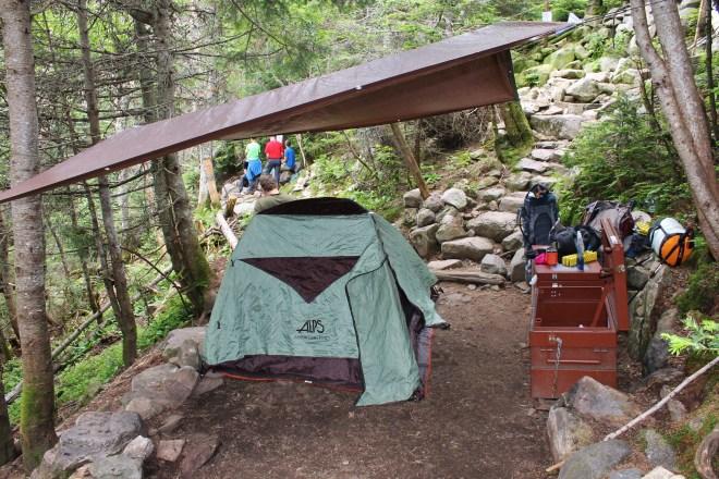 Creative tent spot