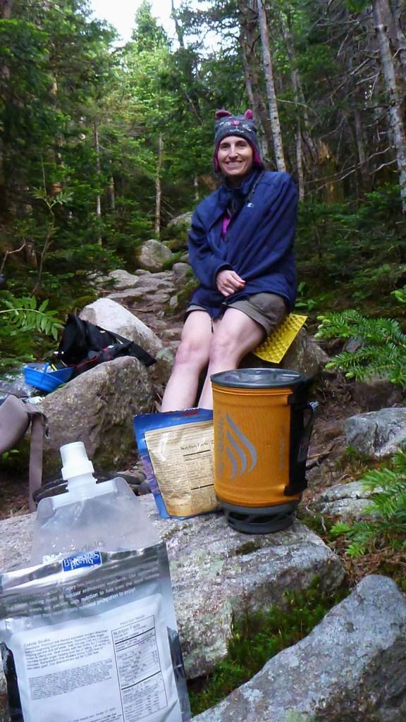 Trail dinner