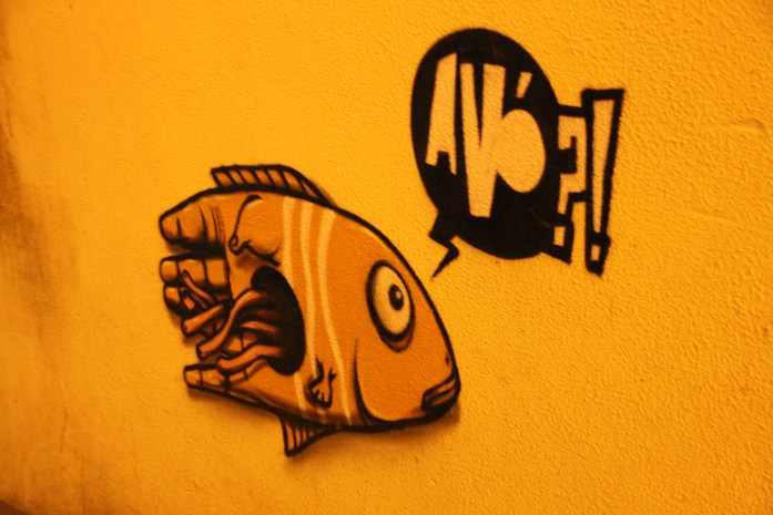 fish Street Art of the Azores