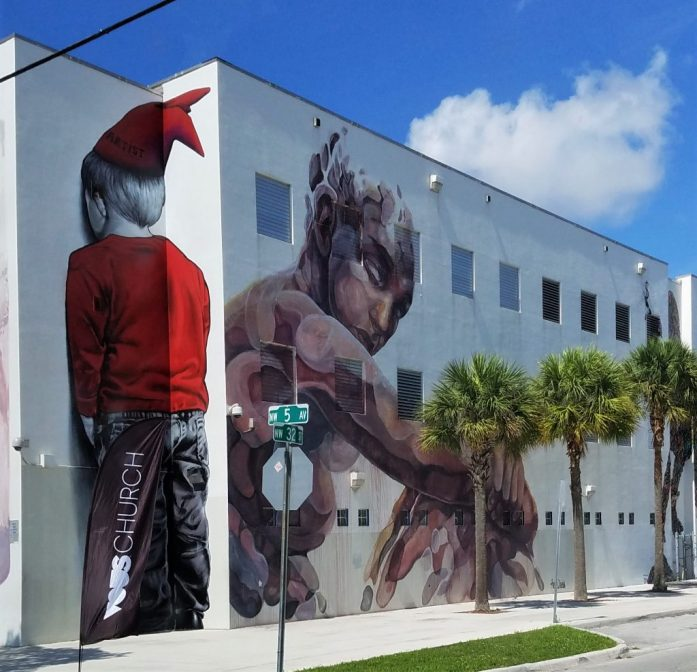 Street Art with a Story in Wynwood Miami