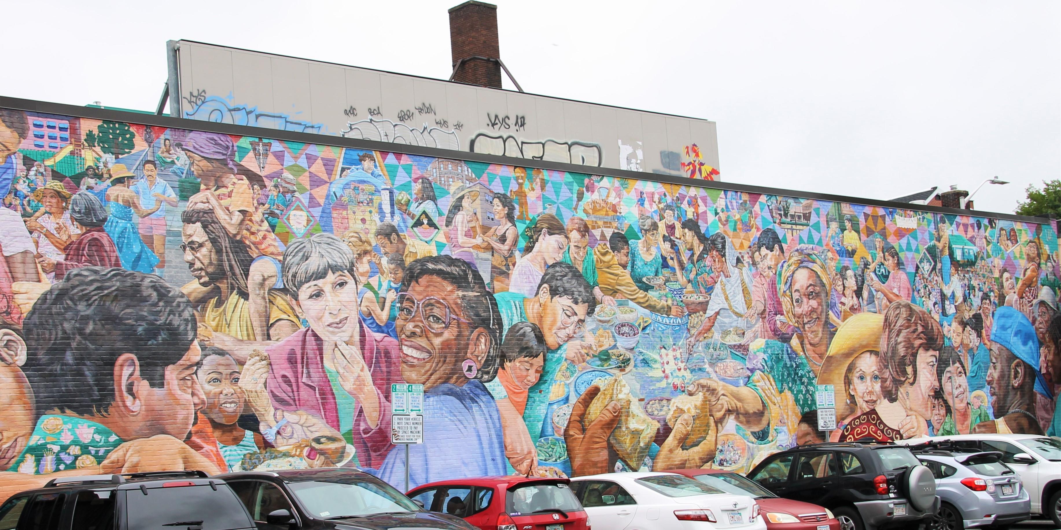 Graffiti wall cambridge ma - Street Art Adventures In The City Of Boston