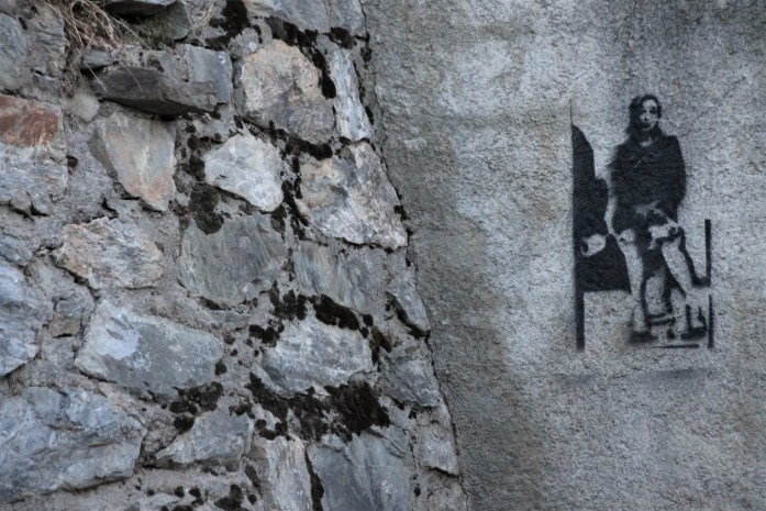 Is There No Street Art in the Pyrenees?