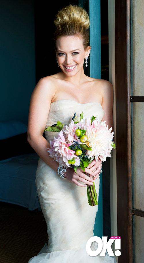OK EXCLUSIVE PICS Bride Hilary Duff Dazzles on Her Big Day  Roashina