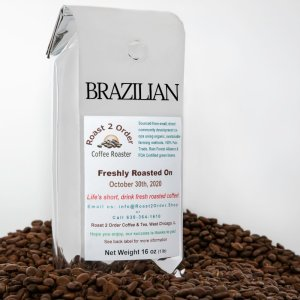 Brazilian Fresh Roasted Coffee