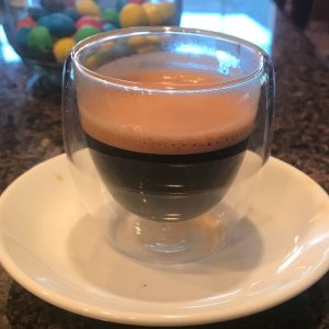 Cup of Espresso with lots of crema!